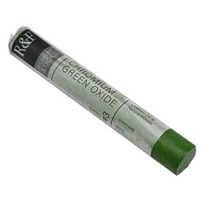 R & F: Barra de Pigmento 38ml. (Barra de Oleo) Oxido de Cromo III (2132)