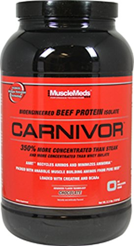 MuscleMeds - Carnivor Bioengineered Beef Protein Isolate Chocolate - 2.25 lbs.