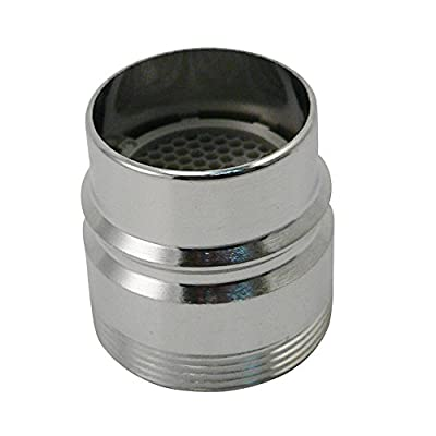 Keeney Manufacturing PP28003 Plumb Pak Faucet Aerator Adapter, for Use with Dishwashers with Large Snap-On Couplings, Chrome
