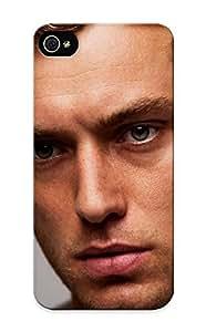 New 583114c139 Blondes Blue Eyes Men Actors Jude Law Faces Portraits Skin Case Cover Shatterproof Case For Iphone 5/5s