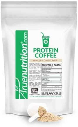 True Nutrition Protein Coffee Pure Arabica Coffee Whey Protein 3rd Party Tested