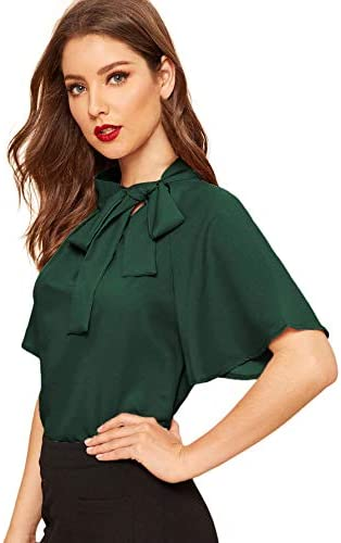 SheIn Womens Casual Sleeve Blouse product image