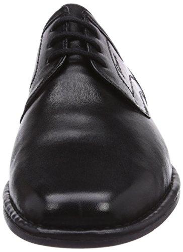 Sioux Houston-XL, Men's Derbys Black (Schwarz 25140)