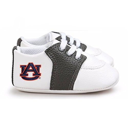 Future Tailgater Auburn Tigers Pre-Walker Baby Shoes - Black Trim