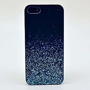 Patr¨®n Noche Resplandeciente Sparkle caso duro para el iPhone 5 / 5S