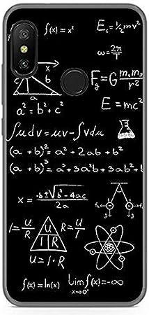 Tumundosmartphone Funda Gel TPU para XIAOMI REDMI 6 Pro/Mi A2 Lite diseño Formulas Dibujos