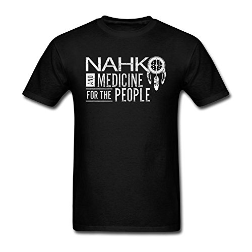 Futhure Men's Nahko and Medicine for the People Cotton DIY T Shirt