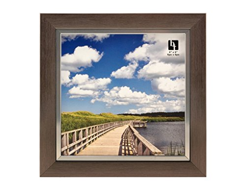BorderTrends Legacy 6x6-Inch Photo Frame, -