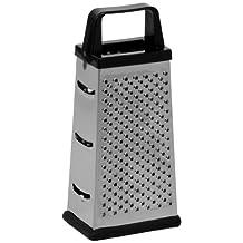 Ekco 1094875 Box Cheese Grater, Small, Silver & Black