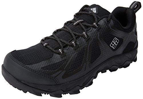 Colombia Mannen Sneakers, Waterdicht, Peakfreak Xcrsn Ii Xcel Laag Zwart (zwart, Lux)