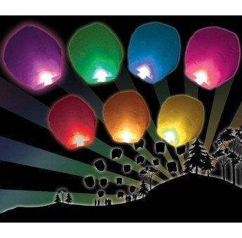 4 opinioni per Lanterne Cinesi Volanti Colorate Confezione da 10 pezzi