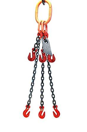 9//32 x 6 Single Leg with Grab Hook Chain Sling Grade 80