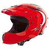 Sweet Protection Rocker Fullface Helmet: M/L - Scorch Red