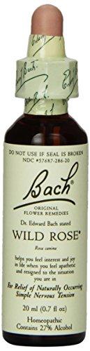 Bach Original Flower Remedies Formula, Wild Rose, 20 ml, 0.7 Fluid Ounce
