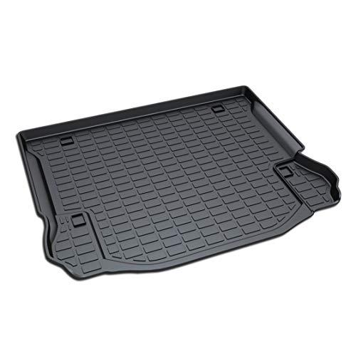 Aiqiying Cargo Liners,Black Heavy DutyRubber Waterproof Rear Cargo Tray Trunk Floor Mat Protector Custom Fitfor 2011 2012 2013 2014 2015 2016 2017 Jeep Wrangler 4-Door