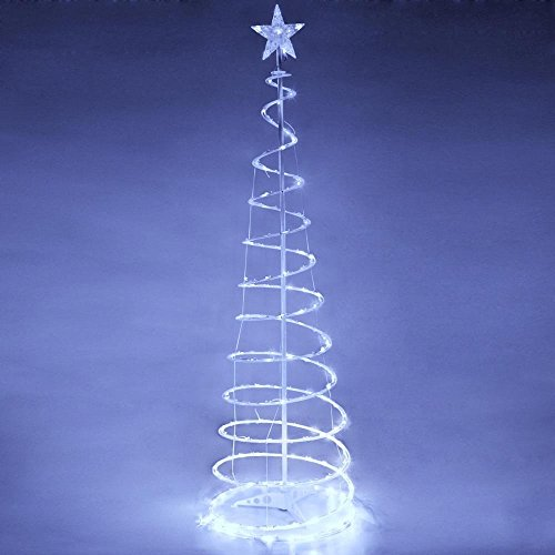 Spiral Lighted Trees For Outdoors in US - 6