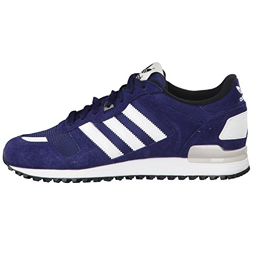 adidas Zx 700, Zapatillas para Hombre Multicolor (Azul Marino / White / Black)