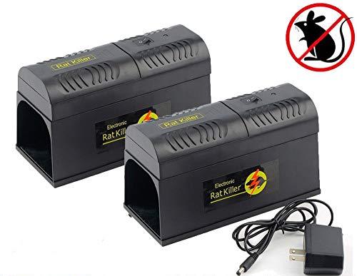 VIDA552 2 Electronic Mouse Trap Victor Control Rat Killer Pe