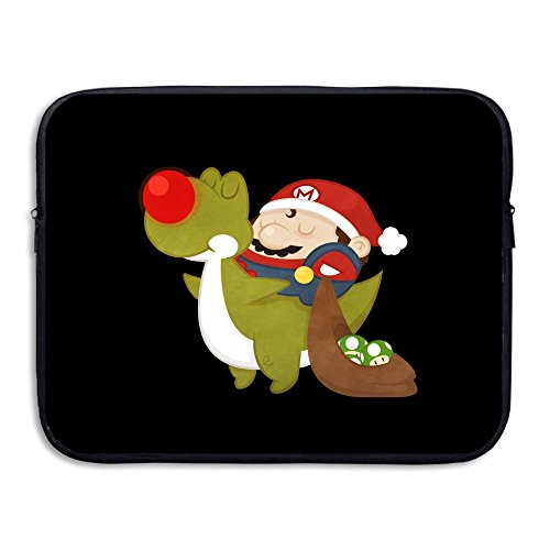 Price comparison product image Mario Christmas Briefcase Handbag Case Cover For 13-15 Inch Laptop,  Notebook,  MacBook Air / Pro, Christmas Gift, Merry Christmas