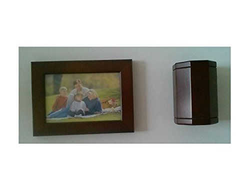 (Frontmount FMS0008-RW Desktop Wooden Picture Frame and Wooden Pen Cup Holder)