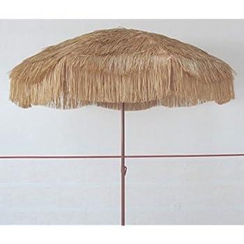 Beach Umbrella Patio Pool Umbrella Thatched Tiki Hawaiian