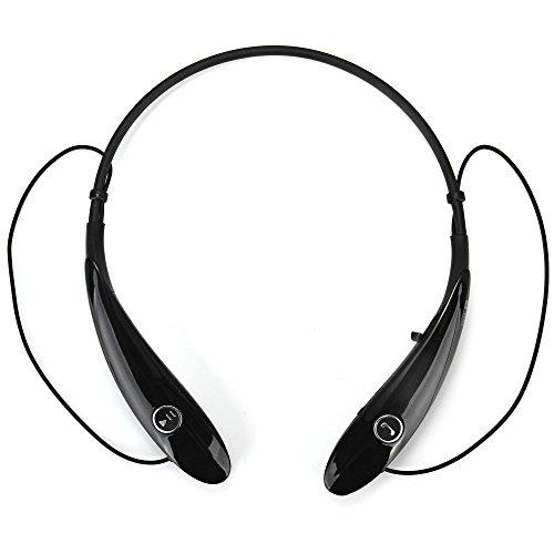 HV-900 Wireless Bluetooth Headset for Sports - Ultra Lightweight Neckband Design plus Astonishing Sound Quality (Black) (black)