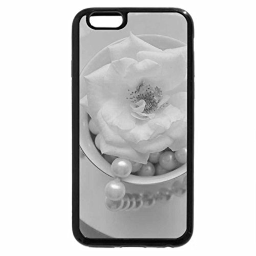 iPhone 6S Plus Case, iPhone 6 Plus Case (Black & White) - Beauty Softness