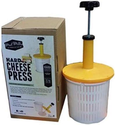 Mad Millie Harde kaas perskit met drukmeter