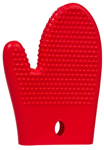 Prepworks from Progressive International GT-3231 Long Silicone Oven Mitt, 9-Inch, Red