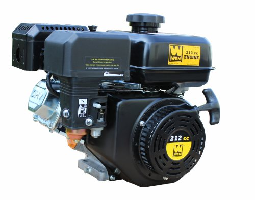 WEN 56212 Horizontal Shaft 4-Stroke Gas Engine, 212cc Displacement ()