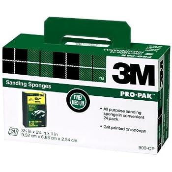 3m Sanding Sponge Fine Medium Grit 3 75 Inch By 2 625