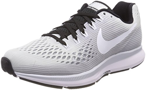 black Running 34 Zoom Pure Women's Pegasus White Shoe Air NIKE Platinum wvgqXW