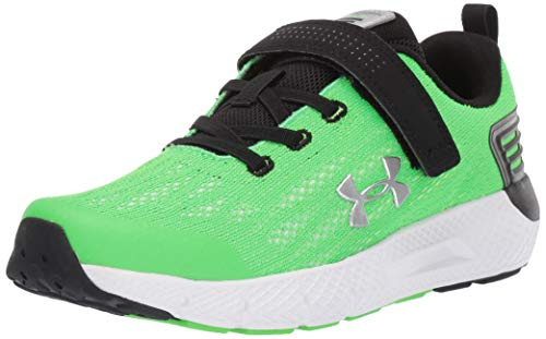 - Under Armour Boys' Pre School Rogue Alternate Closure Sneaker, Zap Green (300)/White, 13K M US Little Kid
