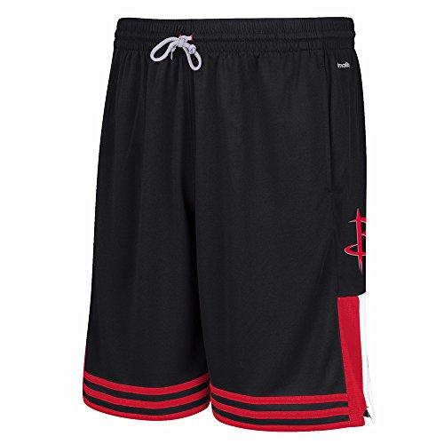 NBA Houston Rockets Men's Tip-Off Shorts, Medium, Black