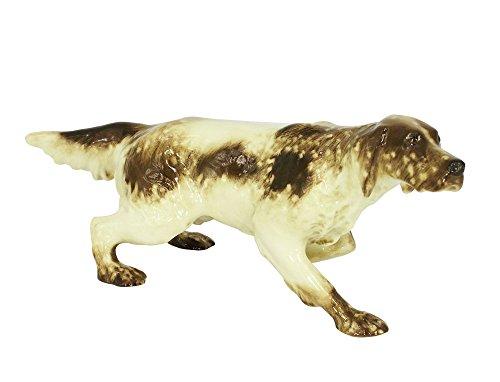 Setter Spotted Hunting Lomonosov Porcelain Figurine (Hunting Dog Figurine)
