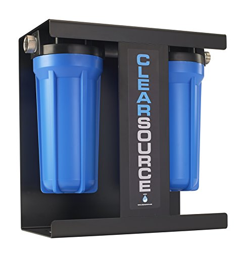 CLEARSOURCE Premium RV Water Filter System | Pristine Water. Unparalleled Water Flow. Built-In Stand. by CLEARSOURCE