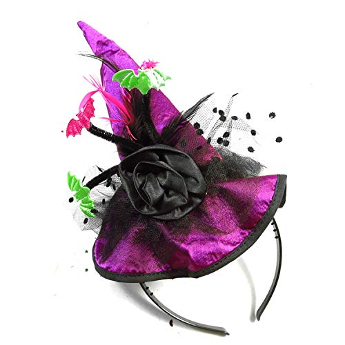 New Year Halloween Party hat on Headband Festive Event Party Supplies Accessories Fun Party -