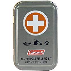 Coleman All Purpose 27 Piece First Aid Kit, Mini Travel Kit