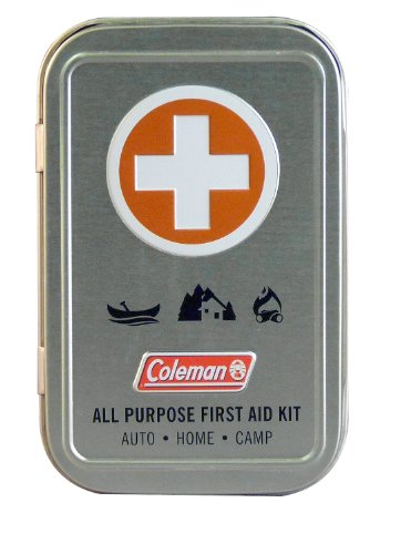 Coleman All Purpose 27 Piece Mini Kit, Travel First Aid Kit ()