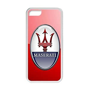 TYH - maserati car logo Hot sale Phone Case for iPhone 5/5s ending phone case