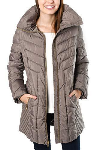 Anne Klein Faux Down Winter Coat for Women