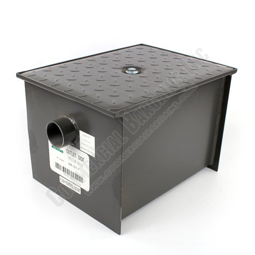 WentWorth 14 Pound Grease Trap Interceptor 7 GPM Gallons Per Minute WP-GT-7 by Wentworth