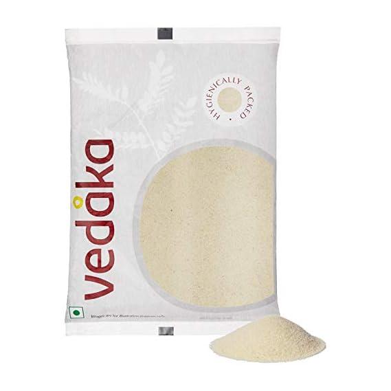 Amazon Brand - Vedaka Roasted Sooji, 1kg