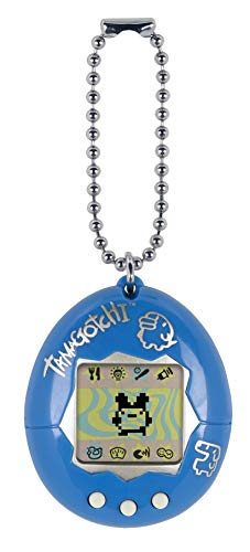 (Tamagotchi Electronic Game, Blue/Silver)
