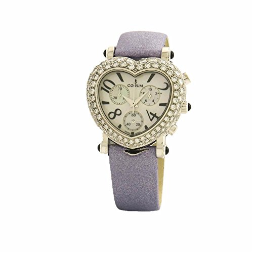 Corum Romantic Heart swiss-quartz womens Watch 196.183.69 (Certified Pre-owned)