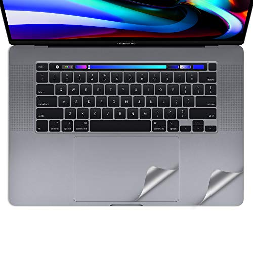 LENTION Palm Rest Cover for MacBook Pro (16-inch, 2019) with Thunderbolt 3 Ports, Protective Vinyl Decal Skin Sticker with Trackpad Protector (Space Gray)