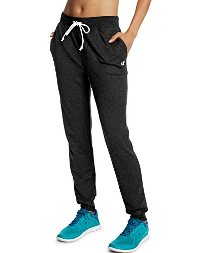 Champion Women's French Terry Jogger Pants Black L