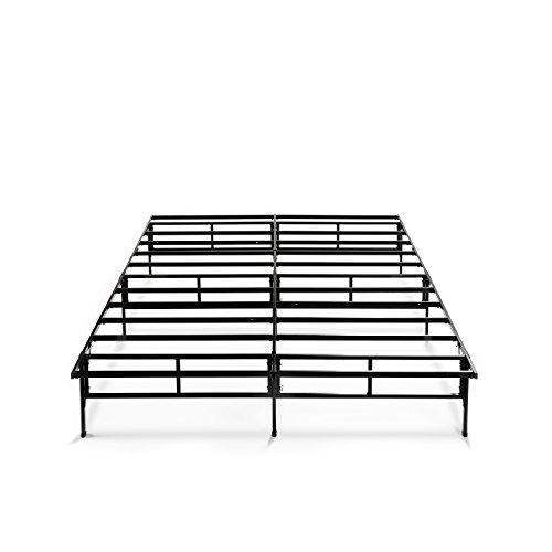 amazoncom zinus 14 inch easy to assemble smartbase mattress foundation platform bed frame box spring replacement king kitchen dining