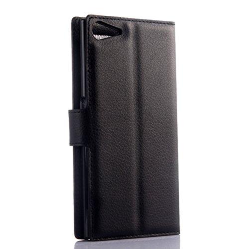 Funda WIKO Highway star 4G,Manyip Caja del teléfono del cuero,Protector de Pantalla de Slim Case Estilo Billetera con Ranuras para Tarjetas, Soporte Plegable, Cierre Magnético(JFC11-8) B