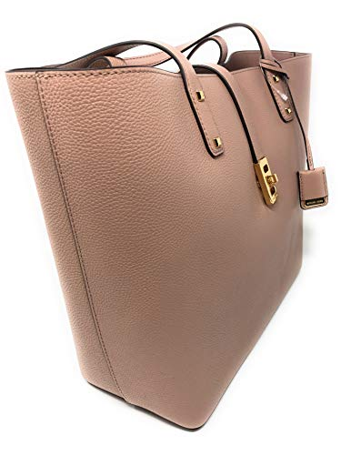 5e2983ae4a67 Michael Kors Karson Large Carryall Leather Tote Bag (Fawn) by Michael Kors  (Image
